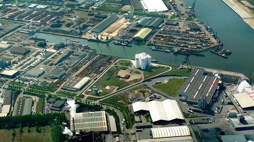 Toekomstvisie Zeehaven En Industrieterrein Moerdijk 2030