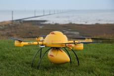 DHL beleeft primeur met inzet drone