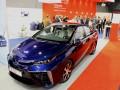 Toyota Mirai met brandstofcel-technologie op Logistica 2015