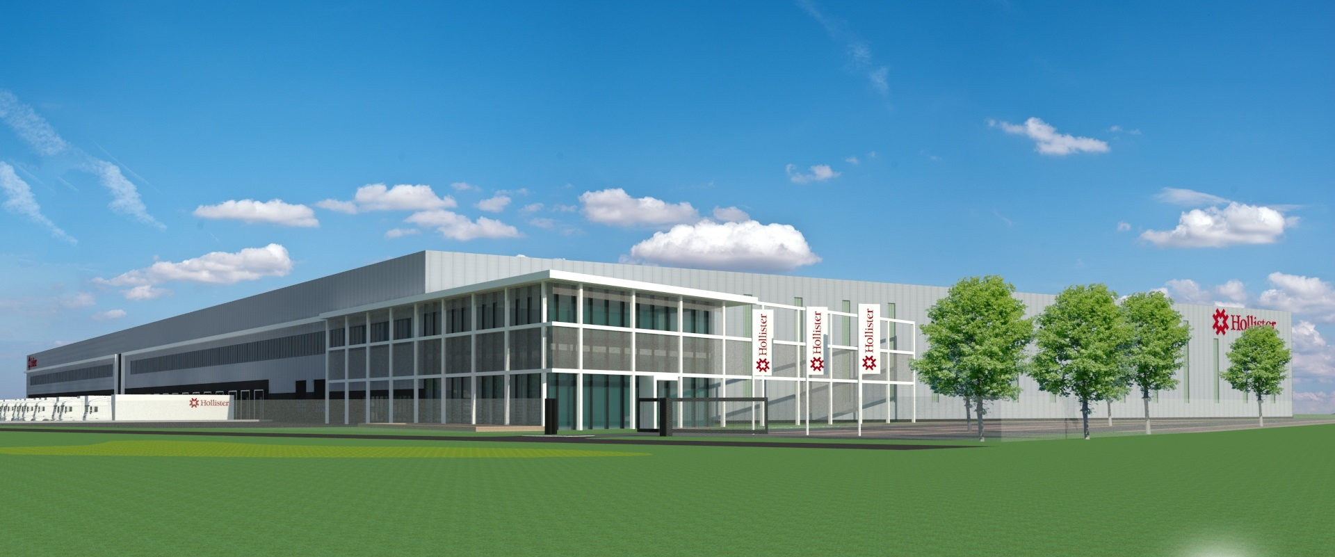 Nieuw DC Hollister Roosendaal • Warehouse Totaal
