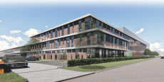 Impressie nieuw warehouse Bunzl Retail & Industry.