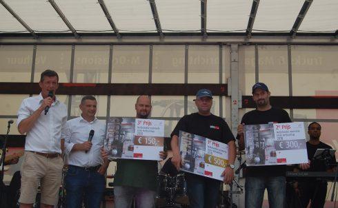 Tonny Koster van Scelta Products Winnaar HeftruckCup 2018.