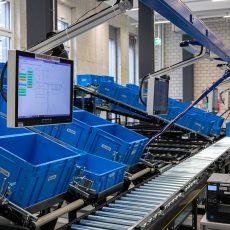 Ansorix systeem geautomatiseerd magazijn voor kleine onderdelen.