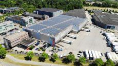 Solarproject op dak D.J. Middelkoop en zn.