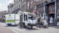 City Hub bezorgt goederen tot in de binnenstad met elektrische voertuigen.