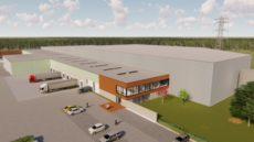 Impressie nieuwbouw Sils Logistics Apeldoorn.