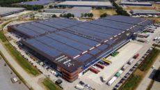 ProDelta zonnestroomproject Distriport Tilburg.