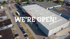 Nieuw logistiek centrum Amacom.