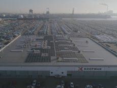 Zonnepanelen bij Koopman Logistics Goup.